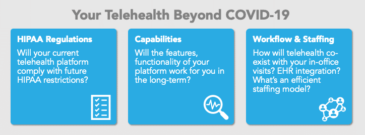 Telehealth beyond COVID-19
